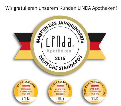 Auszeichnung für LINDA Apotheken