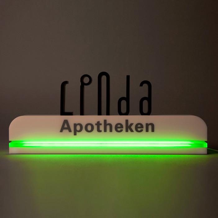 Die Marke LINDA als leuchtendes Beispiel