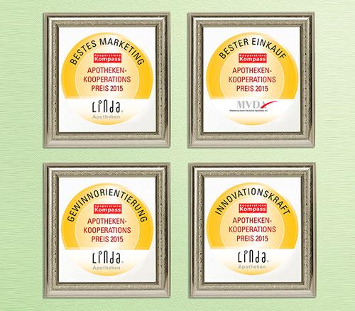 Top-Auszeichnungen für MVDA und LINDA