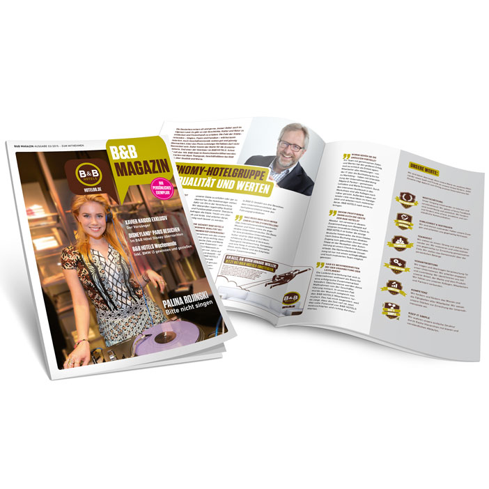 B&B Hotels Infotainment Magazin