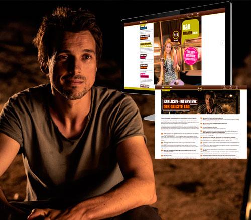 Florian David Fitz im B&B Magazin
