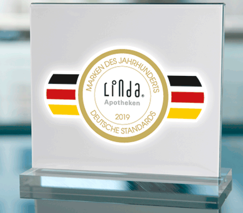 Marke des Jahrhunderts LINDA Apotheken